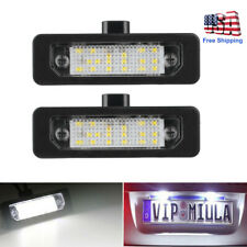 2x LED Number License Plate Tag Lights For Ford Flex Taurus Focus Fusion Mustang