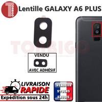 Vitre arrière caméra SAMSUNG GALAXY A6 PLUS Lentille appareil photo Lens verre