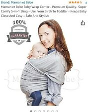 Secure Bebe carrying support,baby wrap, baby sling