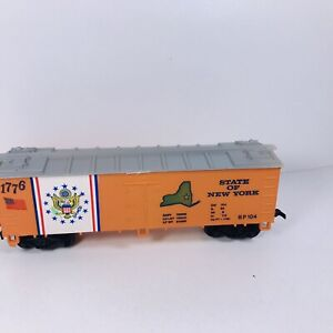 Vintage HO Life-Like State of New York 40' Reefer Car 1776 Freight Car D