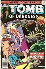 Tomb of Darkness #22 Vg Marvel Horror