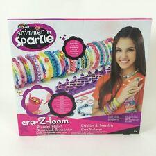 Juguete niña fabrica Crea Pulseras bisuteria incluye telar ganchillo 600 gomas