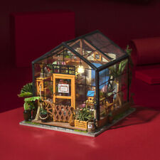 Rolife Handcrafted Miniature Dollhouse DIY Wooden Doll House with Furniture Kits