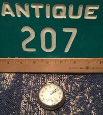 VINTAGE Antique Old INGRAHAM VICEROY POCKET WATCH WORKS Nice Classic Zdantiques