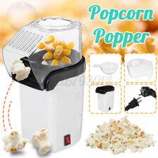 1200W WHITE Electric Hot Air PopCorn Maker Fat Free Popping Popper Machine  F R