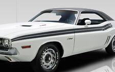 "1971 DODGE CHALLENGER R/T SIDE STRIPES KIT DECAL MOPAR 71 ""WHITE"""