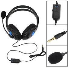 Gaming Headset Stereo Mikrofon.Headphone.Mic Kopfhörer.für PS4 and PC DE