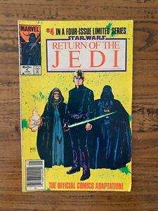 Star Wars: Return Of The Jedi #4 - Marvel Comics - 1984