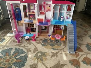 Barbie Doll Hello Dreamhouse Interactive & EXTRA Accessories Previously USED