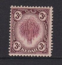 MALAYA (KEDAH) - 1919/21 NEW COLOUR 3c WMK. INV. & REV. MINT SG.19y (REF.D53)