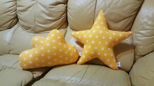 Cute cloud + star 2x package pillows Home Sofa Decor Bedding Nursery Decoratione