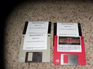 "Mortal Kombat II MS-DOS PC Game on 3.5"" disks"