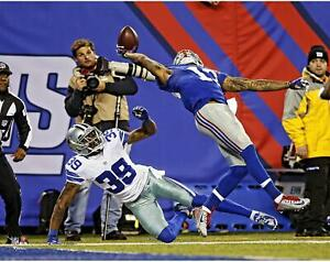 """Odell Beckham Jr. New York Giants Unsigned One Handed Catch 11"""" x 14"""" Photo"""