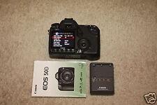 "CANON 50D Digital Camera SLR Body EOS 15.1 MP 3"" Screen Charger EX Condition"