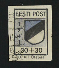 Estonia, Russia, EESTI Germany Occupation, Used Stamp #m136