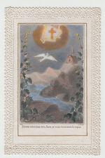 Santa Croce  di Gesù Santino antico Canivet immagine sacra 800