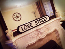 The Doors Inspired Love Street old London Sign Jim Morrison Waiting for the Sun