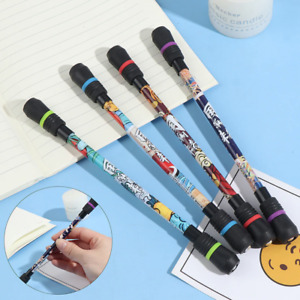 Non Slip Spinning Pen Coated Professional Champion Competition Rolling Rotating