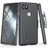 ARMOR CASE SWIVEL BELT CLIP HOLSTER COVER DROP-PROOF SLIM for Pixel 2 XL Phones