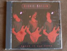 Richie Kotzen - Break it all down Japan CD  rar! + OBI