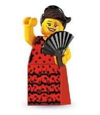 LEGO Minifigures Series 6 8827 #6 Flamenco Dancer lady burlesq  BN mini figure
