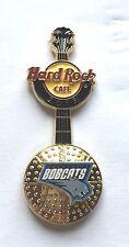 Hard Rock Cafe Pin Badge NBA BasketBall 3D Logo Guitar - Charlotte Bobcats