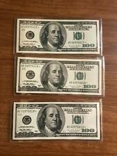 1996  $100 Star Notes  lot of 9 currency Richmond *E  replacement  in  Sequence