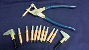 """Standard Cleco Temporary Fastening Kit -3/16"""" clecos & pliers"""