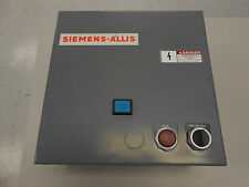 SIEMENS-ALLIS HAND OFF AUTO CONTACTOR W/ICE CUBE RELAY, TRANSFORMER NEMA 1