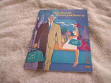 Airwear Everywhere B-O-A-C Booklet 1962