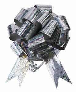 Pull Bows 50mm Ribbon Flower Wedding Gift Wrap Birthday Hampers Decoration XMAS