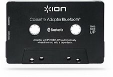 Audio Cassette Adapter Bluetooth Music Receiver Car Tape Decks Hands Free New