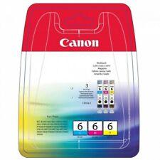 Genuine Canon BCI-6CMY Tri Color Ink Cartridge Canon Pixma iP3000 iP4000 iP4000R