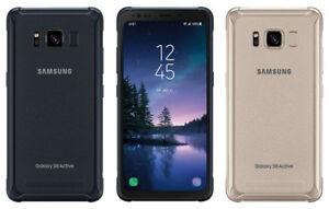 NEW* Samsung Galaxy S8 ACTIVE 64GB GRAY GOLD BLUE (SM-G892A, GSM Unlocked)