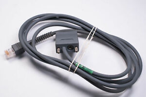 Genuine RS232 Cable for Symbol Barcode Scanners 2 meters CBA-R01-807PAR