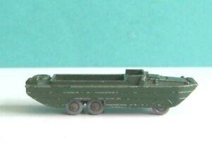 1 x MATCHBOX / LESNEY # 55a. MILITARY D.U.K.W. AMPHIBIAN ARMY TRUCK 1958-63