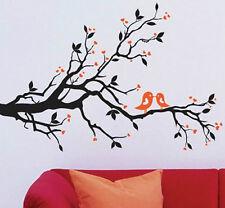 Tree Branch Love Birds Wall Decor Large Huge Home Decoration Hearts JM7051