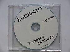 CDR Promo LUCENZO Emigrente del mundo