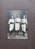 Old Photo Vintage Athlete Turner Dancers Photographer Um 1910 Frankfurt Main
