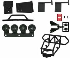 RPM Traxxas Slash 4X4 Front & Rear Bumper Kit Mud Flaps Light Canisters