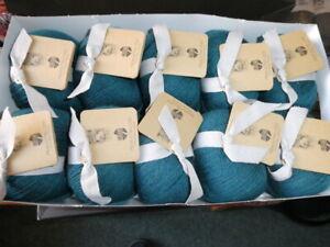 Lana Grossa  10 x 50 Gramm  Alpaca Peru 200  Farbe 227 dunkelpetrol