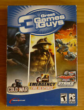 Emergency Fire Response - Cold War - Aerial Strike - 3 Great Games NEW