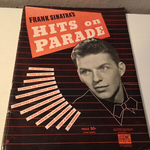 FRANK SINATRA - Hits On Parade - Songbook - Very Good Condition