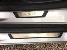 Dacia Sandero Stepway 2012-2017 flexill Sport Style Porte Sill Plaques 9696091FS