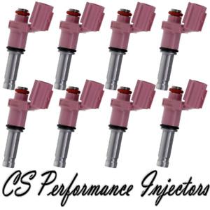 OEM Denso Fuel Injectors (8) 23250-31070 Set For 2008-2014 Lexus IS F 5.0L V8