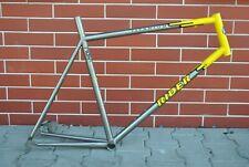 Vintage VGC - RIDER TITANIUM - road bicycle frame 59 x 58 x 650C 571