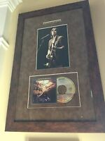 Jackson Browne Autographed / Signed Running On Empty CD & Tour Photo Framed!