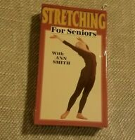 Stretching For Seniors - with Ann Smith - Sealed (VHS, 1997)