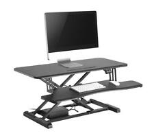 """-Electric Height Adjustable 37.4"""" Sit-Stand Desk Converter For Monitor /Computer"""