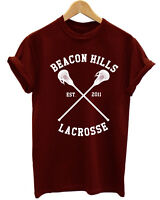 TEEN WOLF BEACON HILLS LACROSSE TEAM VAMPIRES DIARIES UNISEX T SHIRT